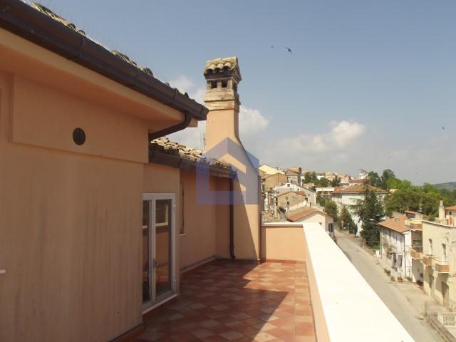 Historic building in Pollutri